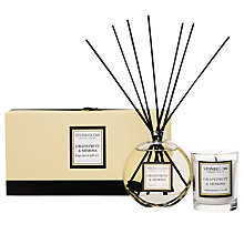 Buy Stoneglow Scented Candle and Diffuser Gift Set, Grapefruit and Mimosa Online at johnlewis.com