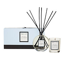 Buy Stoneglow Scented Candle and Diffuser Gift Set, Seasalt and Oakmoss Online at johnlewis.com