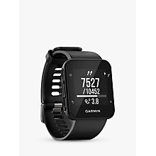 Buy Garmin Forerunner 35 with Wrist-based Heart Rate Technology, Black Online at johnlewis.com