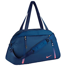 Buy Nike Aura Solid Club Training Bag, Binary Blue Online at johnlewis.com