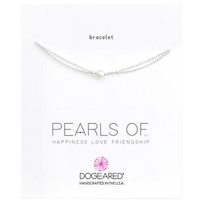 Dogeared Pearls Of Love Friendship Happiness Bracelet