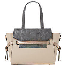 Buy Dune Delpha Winged Tote Bag, Blush Online at johnlewis.com