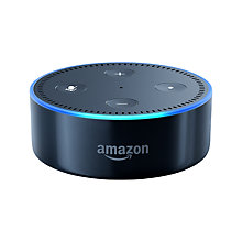 Buy Amazon Echo Dot Smart Speaker with Voice Recognition & Control, Black + Netatmo Thermostat Online at johnlewis.com
