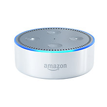 Buy Amazon Echo Dot Smart Speaker with Voice Recognition & Control, White +  Netatmo Thermostat Online at johnlewis.com
