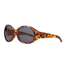 Buy John Lewis Children's Tortoiseshell Oversized Sunglasses, Brown Online at johnlewis.com