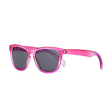 Buy John Lewis Children's Frosted Wayfarer Sunglasses, Pink Online at johnlewis.com