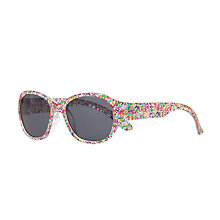 Buy John Lewis Children's Butterfly Sunglasses, Pink/Multi Online at johnlewis.com