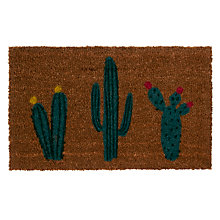 Buy John Lewis Cactus Door Mat, Natural Online at johnlewis.com