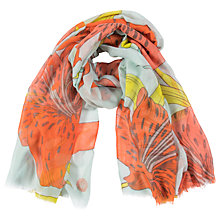 Buy Powder Tiger Lily Print Scarf, Multi Online at johnlewis.com