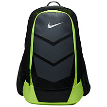 Buy Nike Vapor Speed Training Backpack, Black/Volt Online at johnlewis.com