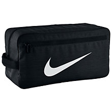 Buy Nike Brasilia Training Shoe Bag, Black Online at johnlewis.com
