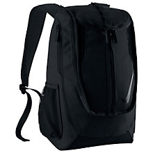 Buy Nike Shield Standard Backpack, Black Online at johnlewis.com