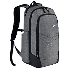 Buy Nike Vapor Energy Unisex Backpack, Black/Metallic Silver Online at johnlewis.com