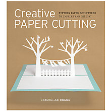 Buy GMC Publications Creative Paper Cutting Book by Cheong-Ah Hwang Online at johnlewis.com
