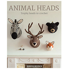 Buy GMC Publications Crochet Animal Heads Book by Vanessa Mooncie Online at johnlewis.com