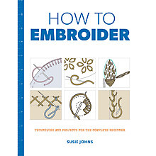 Buy GMC Publications How To Embroider Book by Susie Johns Online at johnlewis.com