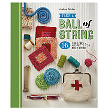 Buy GMC Publications Take A Ball of String Book by Jemima Schlee Online at johnlewis.com