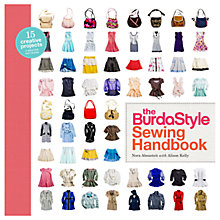 Buy The Burdastyle Sewing Handbook by Nora Abousteit and Alison Kelly Online at johnlewis.com