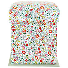 Buy Liberty Eloise Print Victorian Sewing Box, Mint Online at johnlewis.com