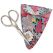 Buy Liberty Ciara Sewing Scissors and Holder, Multi Online at johnlewis.com