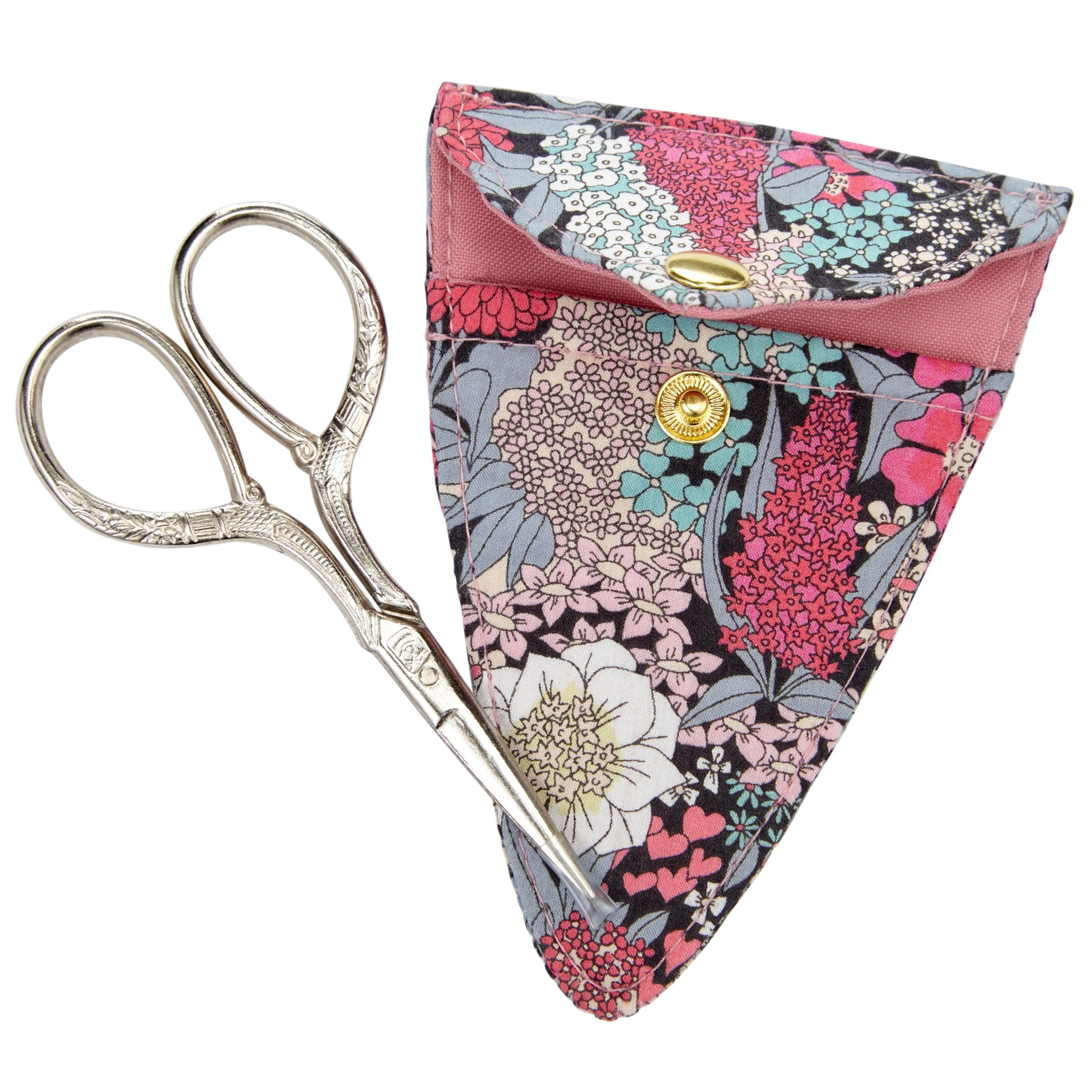 Liberty Liberty Ciara Sewing Scissors and Holder, Multi
