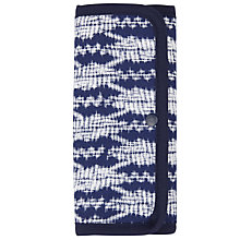 Buy John Lewis Sashiko Print Sewing Roll Kit, Blue Online at johnlewis.com