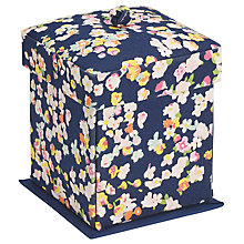 Buy John Lewis Modern Ditsy Victorian Sewing Box, Blue Online at johnlewis.com