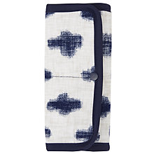 Buy John Lewis Yukie Print Sewing Roll Kit, Blue Online at johnlewis.com