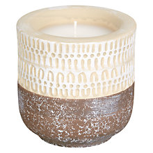 Buy Fusion Ceramic Candle Fill Pot Online at johnlewis.com