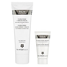Buy REN Flash Rinse 1 Minute Facial Treatment with Gift Online at johnlewis.com