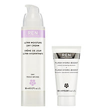 Buy REN Ultra Moisture Day Cream with Gift Online at johnlewis.com