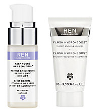 Buy REN Keep Young and Beautiful Brightening Eye Lift with Gift Online at johnlewis.com