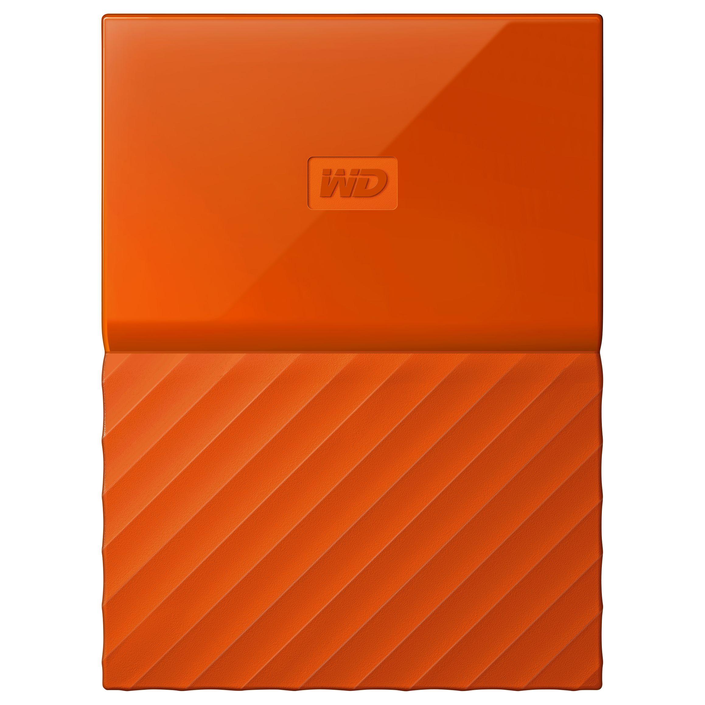 WD WD My Passport Portable Hard Drive, 4TB