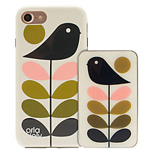 Buy Orla Kiely Early Bird & Ditsy Early Bird Cases for iPhone 7, Pack of 2 Online at johnlewis.com