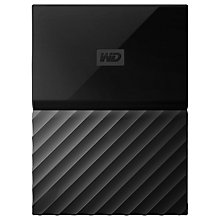 Buy WD My Passport Portable Hard Drive, 1TB Online at johnlewis.com