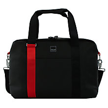 "Buy Acme Made North Point Attaché Work Bag for Laptops up to 15"", Black/Orange Online at johnlewis.com"