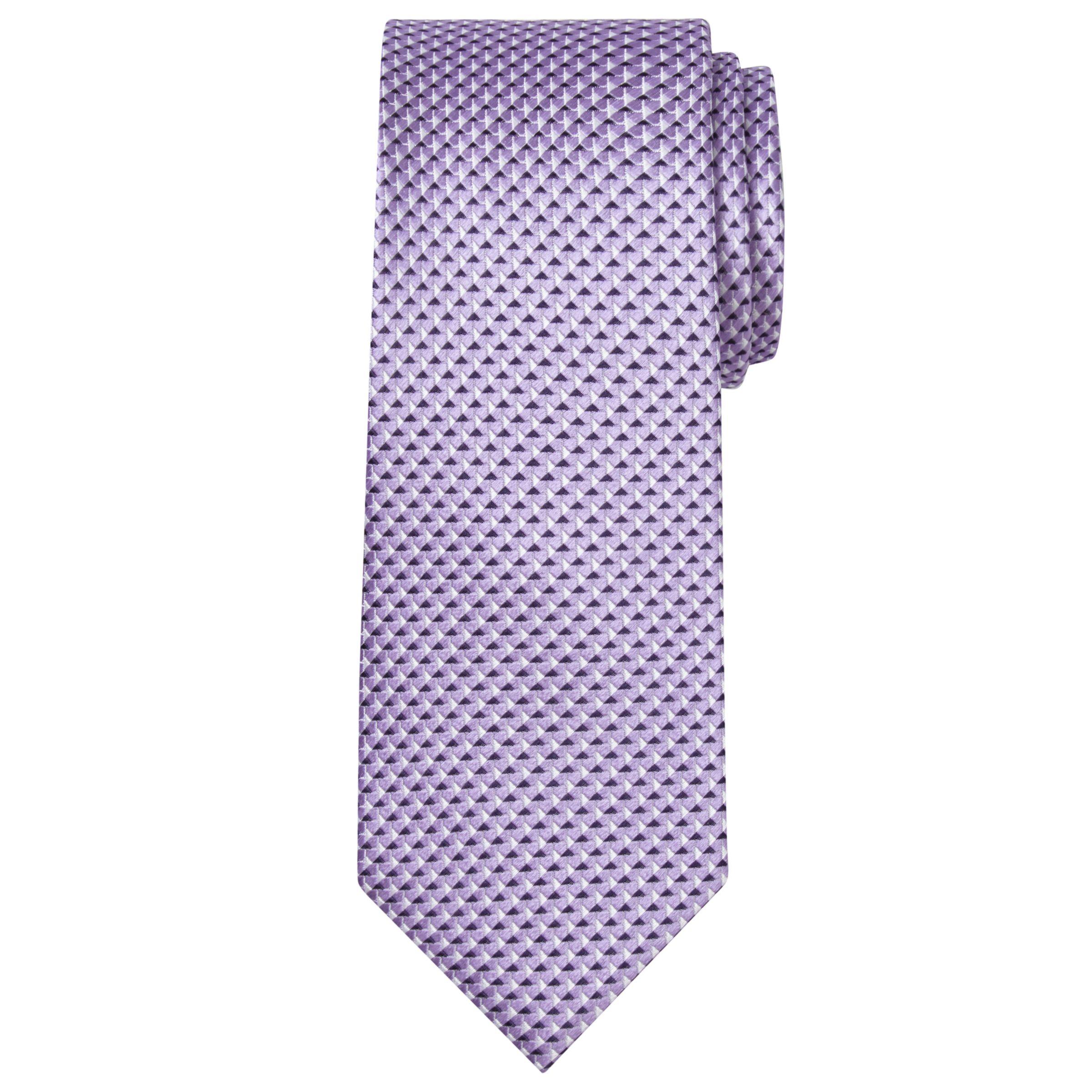 Chester by Chester Barrie Chester by Chester Barrie Geometric Silk Tie