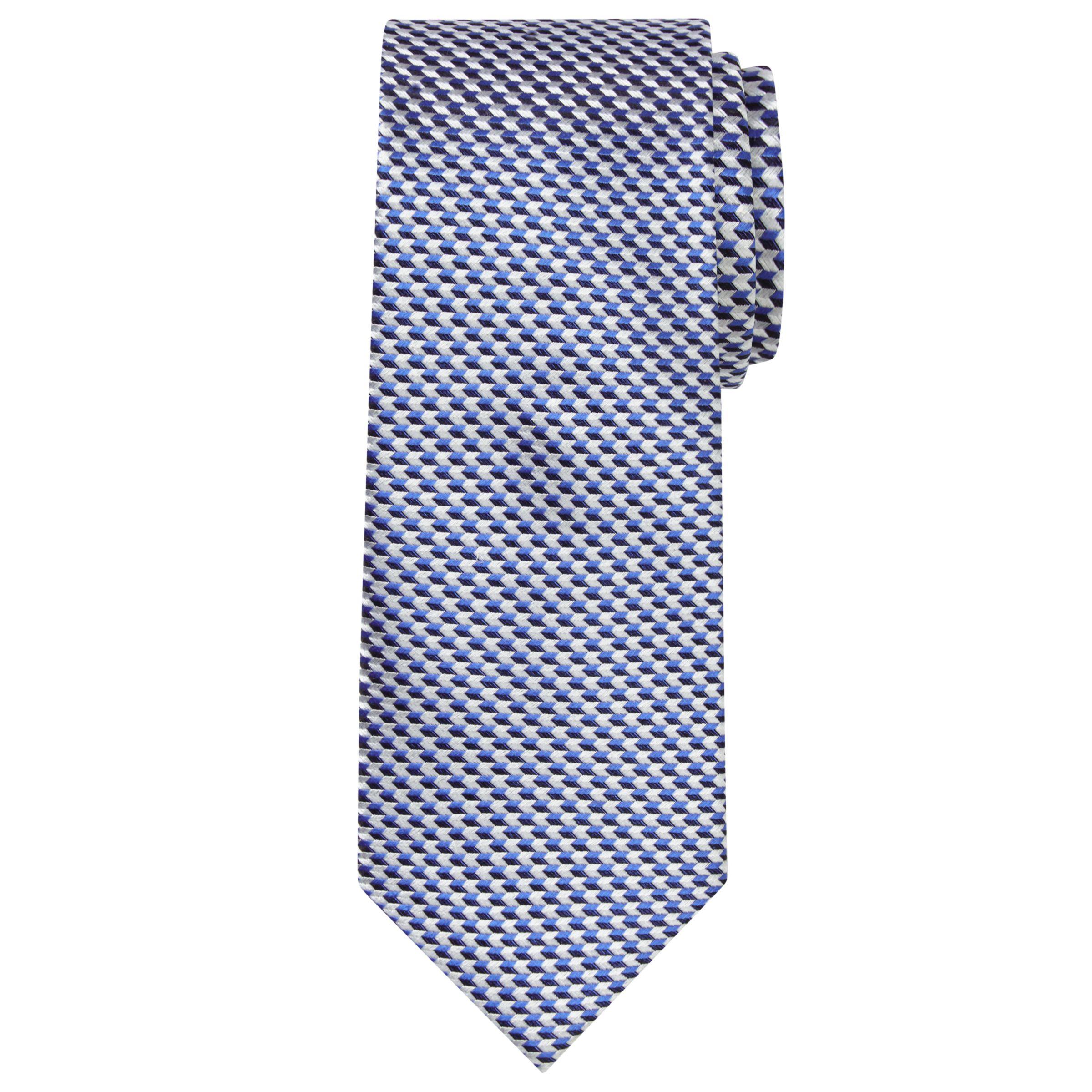 Chester by Chester Barrie Chester by Chester Barrie Chevron Woven Silk Tie