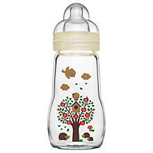Buy MAM Glass Baby Bottle Gift, 260ml Online at johnlewis.com