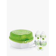 Buy MAM Microwave Steam Steriliser Online at johnlewis.com