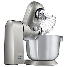 Buy Bosch MUMXL10TGB Stand Mixer, Silver Online at johnlewis.com
