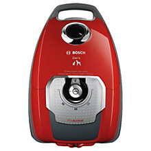 Buy Bosch BGL8PETGB Power Animal Cyclinder Vacuum Cleaner, Red Online at johnlewis.com