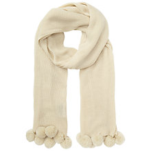 Buy Miss Selfridge Pom Scarf Online at johnlewis.com
