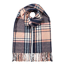 Buy Miss Selfridge Check Scarf, Multi Online at johnlewis.com