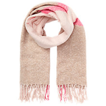 Buy Miss Selfridge Boucle Scarf, Neon Pink Online at johnlewis.com