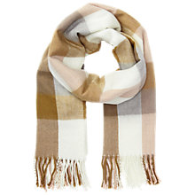 Buy Miss Selfridge Gingham Check Scarf, Multi Online at johnlewis.com