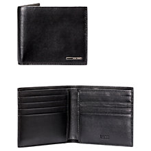 Buy BOSS Ruben Eight Card Leather Wallet, Black Online at johnlewis.com