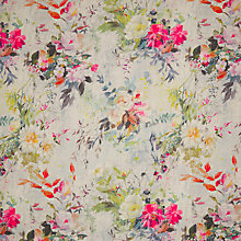 Buy Designers Guild Aubriet Lino Damson Fabric, Price Band G Online at johnlewis.com