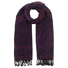 Buy East Paisley Woven Scarf Online at johnlewis.com