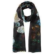 Buy East Floral Printed Scarf, Multi Online at johnlewis.com